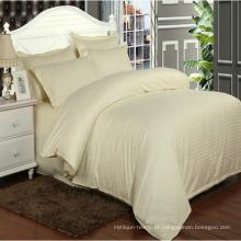 Hotel colorido / casa 1 cm cetim listra cobertor cobre em estoque (dpf1061)