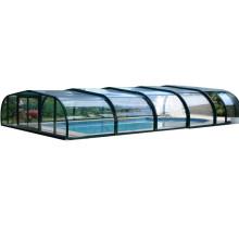 Couverture de piscine solaire en polycarbonate PVC