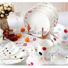 Japanese Korea stylish bone china dinnerware set