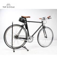 Remolque eléctrico de la bici del engranaje fijo de la sola velocidad Eco-reanudable del peso ligero 700C