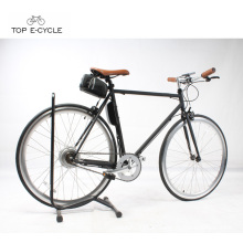 Eco-renewable light weight 700C single speed bike fixed gear electric bicycle dropship