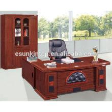 Bureau de bureau de luxe avec un revêtement en cuir awsome, Esun Brand (modèle T300)