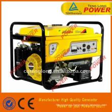 Generador de gasolina silencioso portátil de venta caliente
