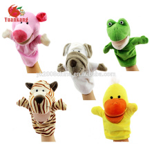 animal plush hand puppet toy for adult