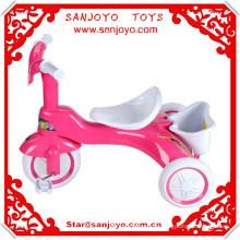 2014 venta caliente de alta calidad de tres ruedas en bicicleta juguete Kid Ride Trike niños triciclo bicicletas de bebé HT-5310