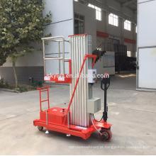 Elevador de manutenção aéreo interno / externo com acionamento motorizado