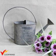 Shabby Chic Metal Decorativo de la lata de riego