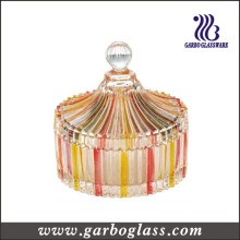Clear Glass Candy Jar (GB1828H/P)