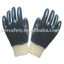 Guante de trabajo de nitrilo para uso industrial