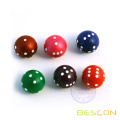 Special Colorful Round Dices