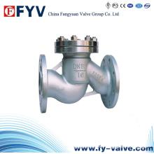 Válvula de retenção de aço fundido Tipo Válvula