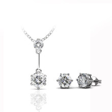 Jane Set 2018 African Latest Design Bridal Jewelry Set with Premium Grade Crystal