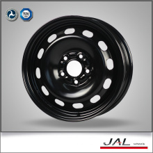 2016 Made 15 Inch Black Steel Wheels Car Wheel Rim with 5 Lug