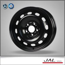 2016 feito de 15 polegadas preto rodas de aço carro roda jante com 5 Lug