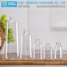 30ml 40ml 100ml and 200ml cute oval shape color customizable translucent/transparent/opaque empty pet plastic bottles