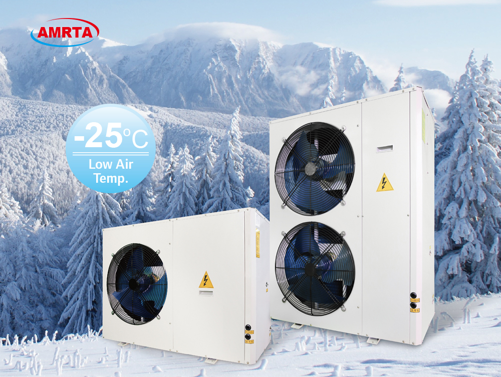 -25 Degrees Low Ambient Air Source Heat Pump