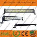 Barra de luces LED todoterreno, 40PCS * 3W Barra de luces LED, Barra de luces LED Epsitar Conducción todoterreno