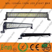 Barra de luz LED fora de estrada, 40 PCS * 3W Barra de luz LED, Barra de luz LED Epsitar para condução fora de estrada