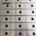 fabricación de panel decorativo de valla de aluminio diseño de valla equina