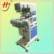 HP-160BZ Pneumatic máquina de impressão de tampão de garrafa de 2 cores com transportador