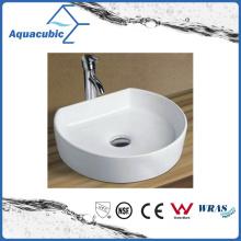 Lavatório de lavatório de lavatório de lavatório e lavatório de cerâmica de armário de arte (ACB8192)