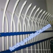 Coloré D ou W en forme de protection contre la rouille Bar Fence vendre
