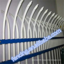 Colourful D or W shaped rust protection Bar Fence sell