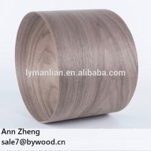 Chapas naturales de alta calidad Chapa de madera de nogal negro