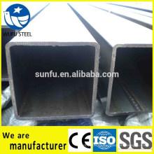 GB / T6728 cuadrado Q345B tubo de acero para la estructura mecánica