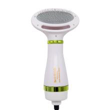 Secador de pelo para mascotas Peine eléctrico de aire caliente de 2 temperaturas