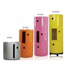 Home Storage Cabinet Unit Classeur ABS en plastique / bureau (XS-042)