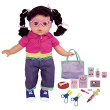 En71 boneca de aprovação de moda boneca de 14 polegadas (h0318172)