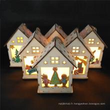 FQ marque jardin maison bois décoration de la maison lumière de noël