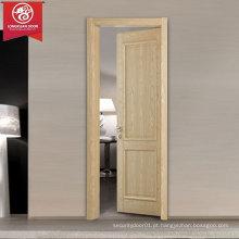 Portas de madeira modernas simples, Design de porta de madeira nivelada