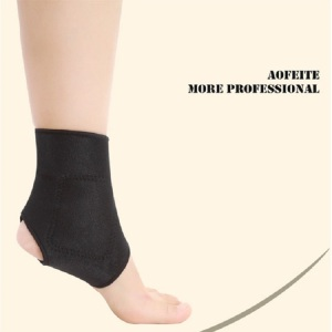 Elastic ce shin guard ankle brace support