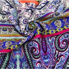 100 Rayon Dress Fabric Custom Printed Fabric Cloth for Clothing