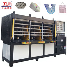 Factory Wholesale PriceList for China KPU Shoes Cover Machine, KPU Shoes Machinery, KPU Sport Shoes Upper Machine, KPU Shoe Cover Maker Equipment, KPU Shoe Machine, Shoes Upper Making Machine Exporters Easy Operation Plastic Shoes Vamp Making Machine expo