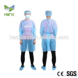 Disposable nonwoven medical protective coverall