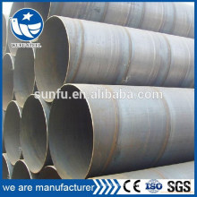 Superior quality HSAW/ SSAW spiral steel pipe for structure