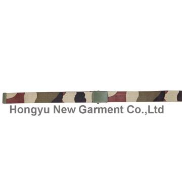 Ceinture en polyester avec boucle en alliage en Woolland (HY-WB014)