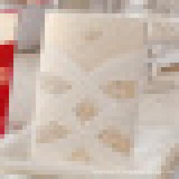 Cartes d'invitation de mariage de luxe de 2015 avec motif perlé découpé au laser