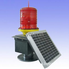 solar LED aviation obstruction light