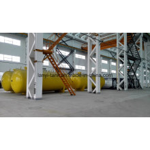 50000L High Quality Stainless Steel 22bar Pressure Storage Tank for Liquid Ammonia with Valves