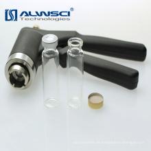 Hochwertiger 20mm Hand Crimper schwarzer Aluminium Crimper