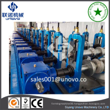 100-600mm cable tray c channel roll forming machine steel slotted hole