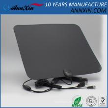 dauerhafte ultradünne flache Innen-HDTV-Antenne UHFVHF DVB-T Digital-Innen-Fernsehantenne
