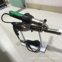 Máquina de soldadura por extrusión de mano termoplástica