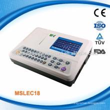 3 Kanal ekg Maschine Interpretation Preis heißer Verkauf (MSLEC18-N)