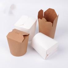 Caja de cartón de papel popular para rosquillas personalizadas Cajas de rosquillas de papel de diferentes tamaños para envasar alimentos