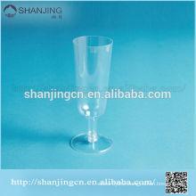 6.5oz/190ml 16g Eco-friendly unique unbreakable disposable plastic wine glass